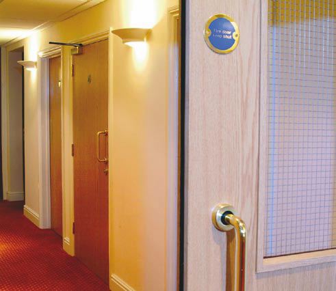 Fire Door in every day use
