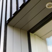 Timber Cladding around window