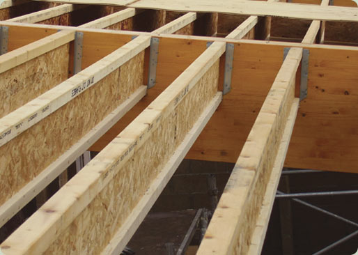 Span tables timber trade topic woodcampus woodcampus for Wood floor joist construction
