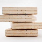 Cross-laminated timber CLT