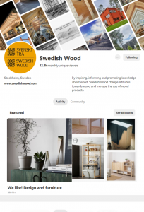 Swedish wood Pinterest